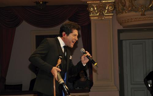 O cantor Daniel fez uma participação especial no evento