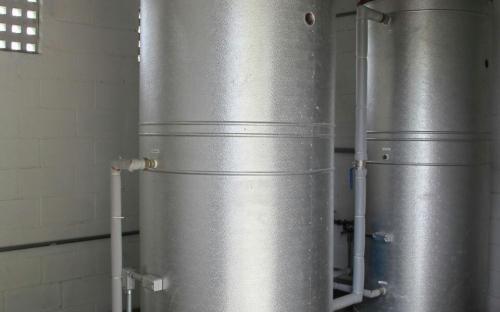 Sistema de reaproveitamento de água da chuva também é uma das medidas adotadas pela instituição