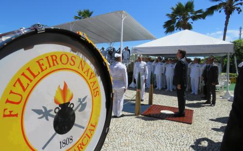 Solenidade militar reuniu autoridades civis e militares na Fortaleza de São José da Ilha das Cobras