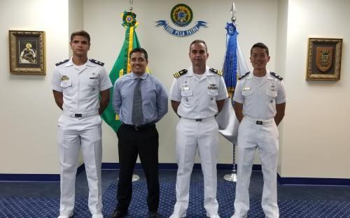 Na ocasião, os Aspirantes conheceram a Comissão Naval Brasileira em Washington