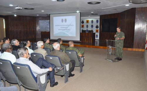 Programação teve início com uma apresentação do ComGerCFN