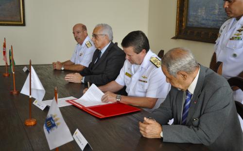 Assinatura de Termo de Execução Descentralizada foi feita na sede do CGCFN