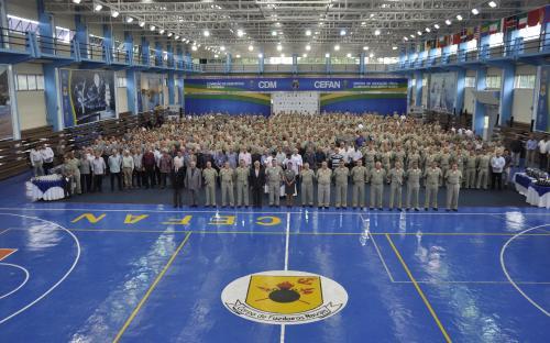 Participaram do encontro Oficiais que servem em Organizações Militares do CFN