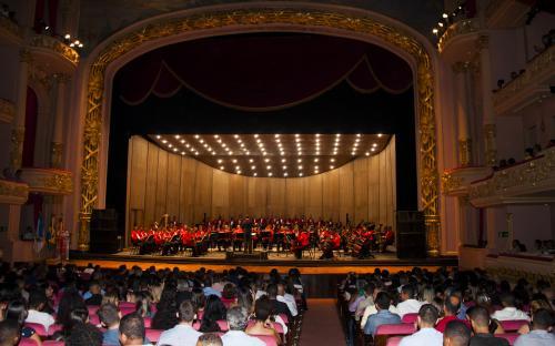 Banda Sinfônica do CFN reúne 4 mil pessoas no Theatro Municipal nos dias 3 e 4 de abril