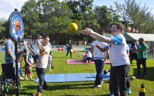 O Projeto Special Sports Kids e outras instituições apoiaram o evento