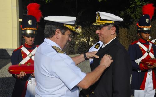 Na ocasião, Oficiais e Praças foram agraciados com a Medalha Mérito Militar