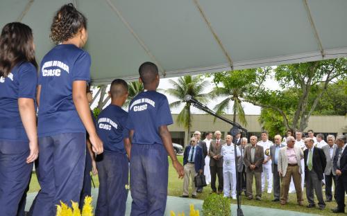 Coral de crianças do PROFESP realizou apresentação