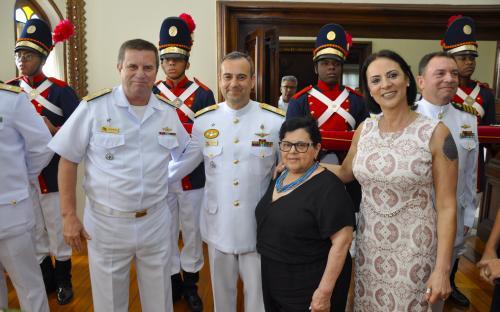 Solenidade reuniu familiares e convidados dos almirantes promovidos