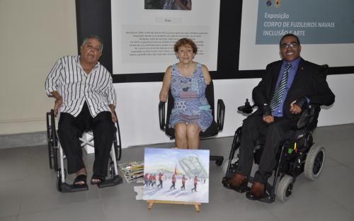 APBP tem como propósito promover a inclusão de artistas que perderam a capacidade de uso de suas mãos