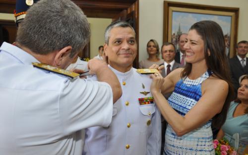 Comandante-Geral do CFN elogiou a trajetória dos oficiais promovidos