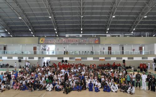 Essa é a terceira edição do evento de inclusão social promovido pelo CFN