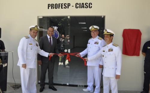 Ocasião também marcou a inauguração do novo prédio do PROFESP
