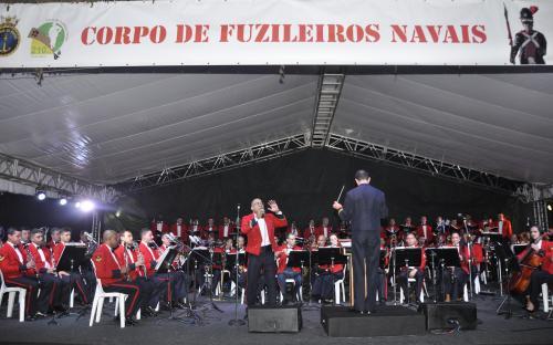 Banda Sinfônica do CFN apresentou ritmos dos países da CPLP