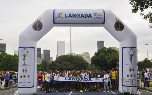 Aterro do Flamengo recebeu milhares de corredores