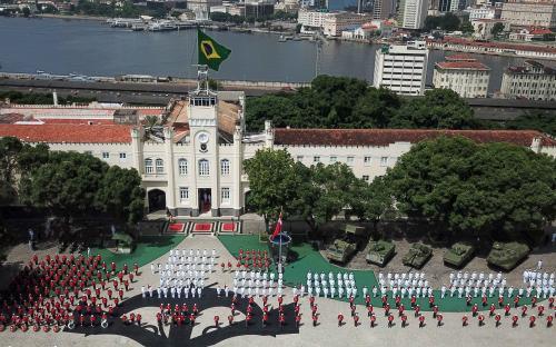Cerimônia foi realizada na Fortaleza de São José da Ilha das Cobras