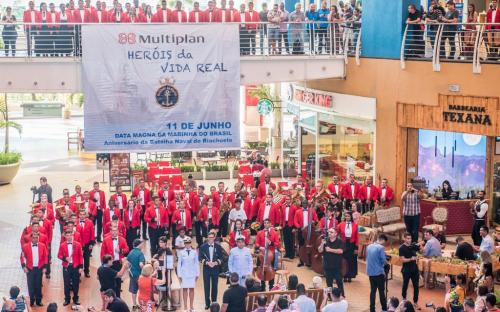 CGCFN faz homenagem alusiva ao aniversário da Batalha Naval do Riachuelo