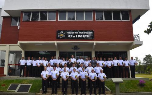 Oficiais-Generais da Marinha participaram da cerimônia de ativação do Núcleo