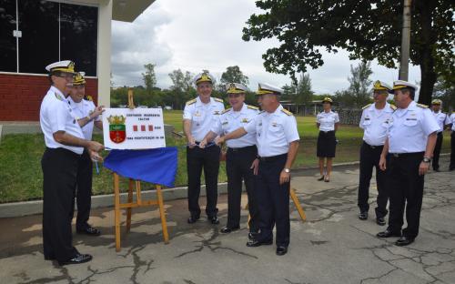 CFN inaugurou Núcleo de Implantação do Centro de Intendência da Marinha em Parada de Lucas