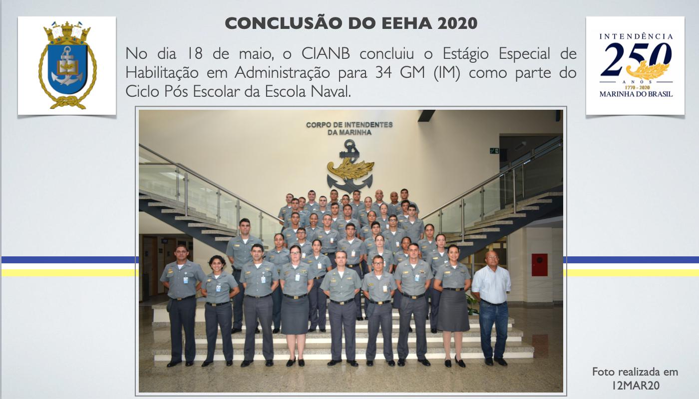 Conclusão do EEHA 2020