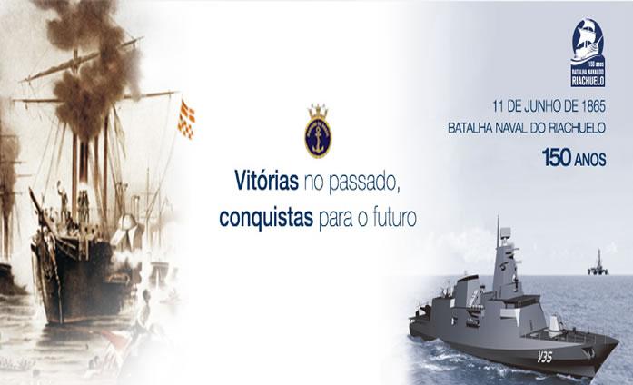 150 anos - Batalha Naval do Riachuelo