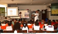 Militares do 2ºDistrito Naval conscientizam estudantes na luta contra o Aedes aegypti