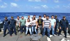 """Corveta """"Caboclo"""" apoia pesquisas na Ilha da Trindade"""