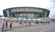 2º dia de jogos na arena fonte nova transcorre em clima de tranquilidade