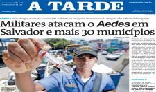 Militares e agentes combatem Aedes aegypti