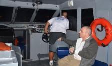 CPBA resgata  tripulante ferido em embarcação pesqueira