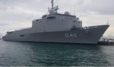 NDM em Salvador (BA), primeiro porto em território nacional onde atracou
