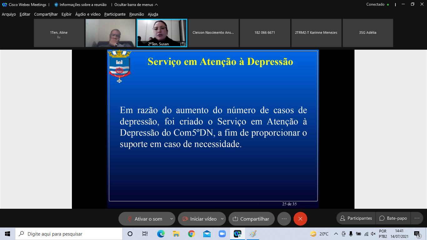 2ºTen (RM2-T) Susan apresentando o Serviço em Atenção à Depressão do Com5ºDN.png