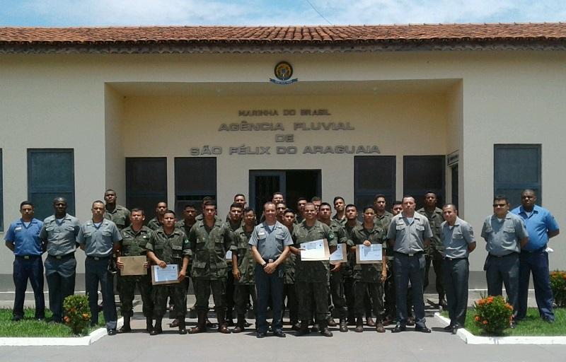 25 Fuzileiros Navais participaram da qualificação em São Félix do Araguaia