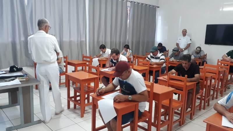 Fiscalização de provas no município de Comodoro-MT