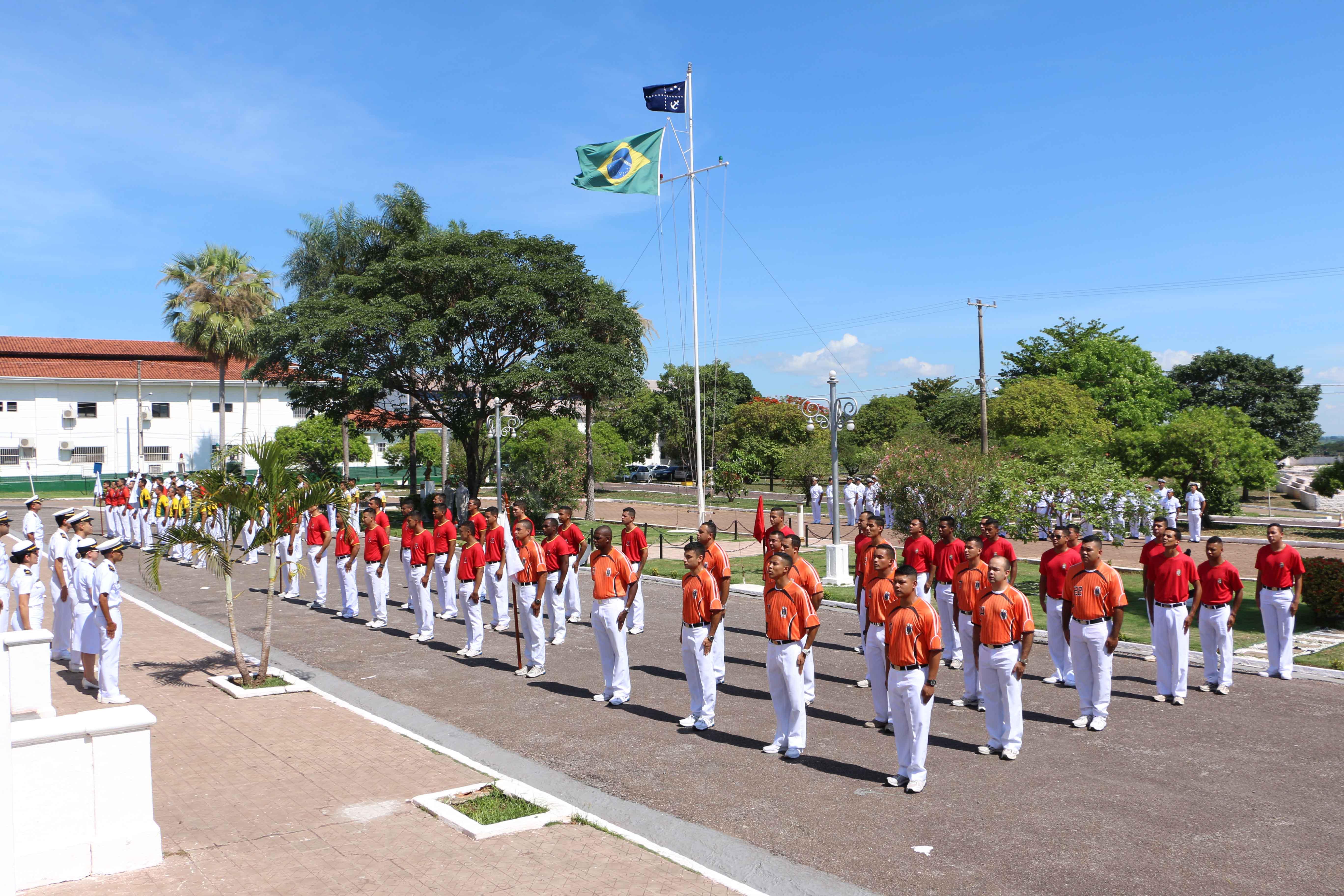 Militares das nove Organizações Militares participaram do Ano Desportivo 2019