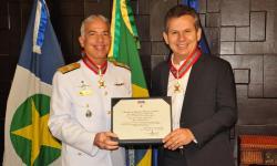 C Alte Arentz e o Governador Mauro Mendes