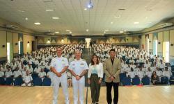 Comandante do Com6ºDN e palestrantes do Simpósio