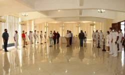 Cerimônia do Dia do Veterano foi realizado no Hotel de Trânsito de Ladário