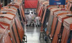 Descontaminação no Mercadão Municipal de Campo Grande