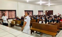 Militares palestraram sobre as atividades da Marinha do Brasil