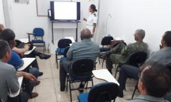 Palestra na Agência Fluvial de Cáceres