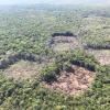 Área desmatada na Reserva Indígena Nambikwara
