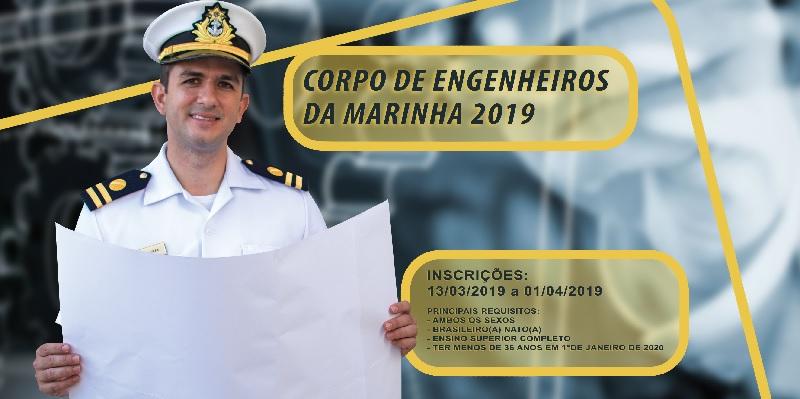 d9f5756ab8 Marinha do Brasil abre inscrições para concurso do Corpo de ...