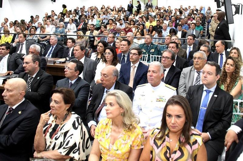 Os 24 deputados estaduais tomaram posse no dia 1º de fevereiro