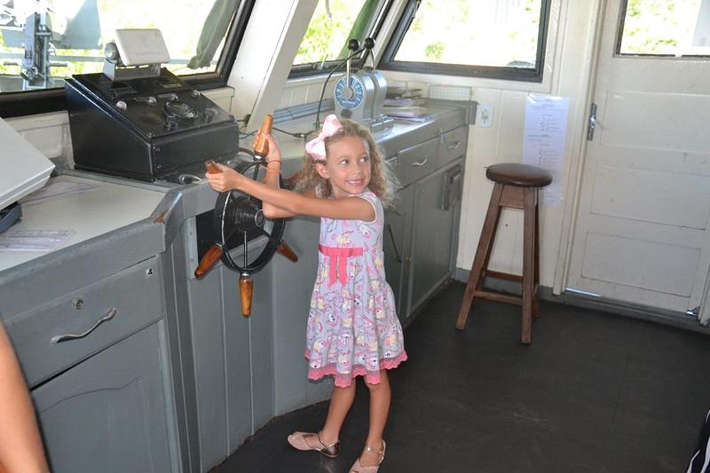 Visitação aos navios