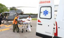 Mulher foi encaminhada ao Pronto Socorro de Corumbá
