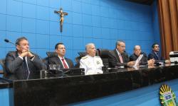 Presidente da Casa de Leis, Deputado Paulo Corrêa, na abertura do evento