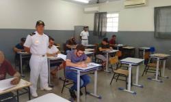 Cerca de 80 candidatos fizeram a prova de habilitação de Arrais Amador
