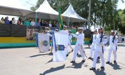 Em Corumbá, militares desfilaram em comemoração ao Dia da Independência