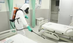 Militares realizaram descontaminações em locais de grande acesso, como hospitais