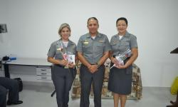 Capitão dos Portos, CC Cristiano, com militares da CFMT